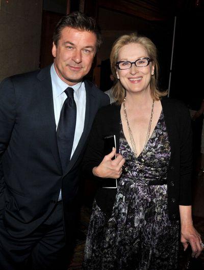 Мэрил Стрип. Алек Болдуин и Мэрил Стрип. Фото: Stephen Lovekin/Getty Images for Reeve Foundation