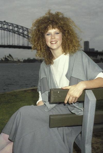 Николь Кидман – первая леди Австралии в Голливуде. Николь Кидман в 1983 году. Фото: Patrick Riviere/Getty Images