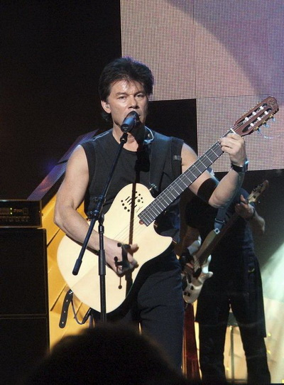 Олег Газманов. Фото с сайта gazmanov.narod.ru