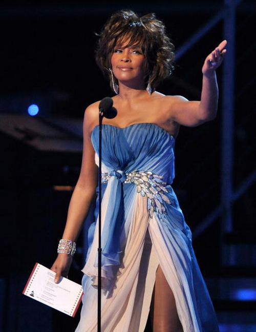 Уитни Хьюстон на церемонии вручения наград «Грэмми». 2009 год. Фото: Kevin Winter/Getty Images