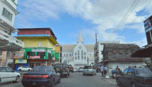 Джорджтаун. Гайана.  Католический храм. Фото: Елизавета Кирина/tecnolux.ya.ru