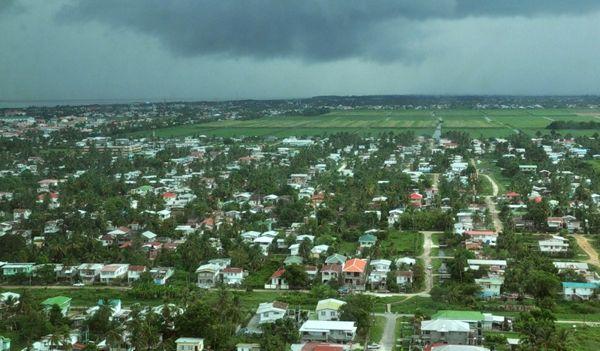 Джорджтаун. Гайана. Джорджтаун сверху.Фото: Елизавета Кирина/tecnolux.ya.ru