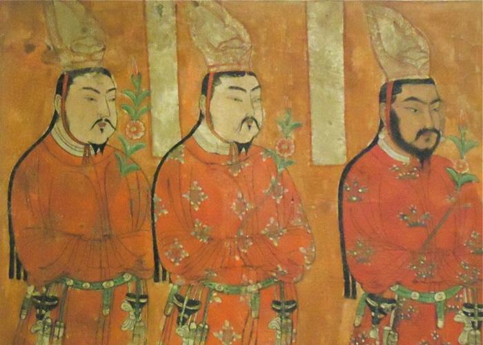 Уйгурские принцы, Безелик, Средняя Азия, VIII-IX столетие. Фото: Susan James