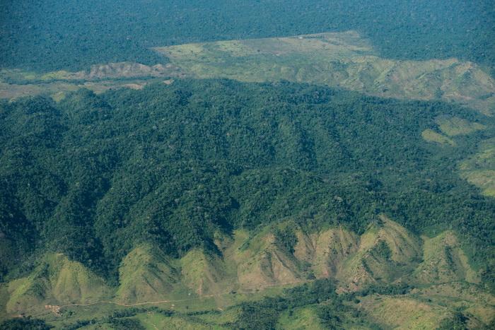 На территории национального парка «Серра-де-Капивара» обнаружены следы человеческой деятельности, которым примерно 50 тысяч лет. Фото: YASUYOSHI CHIBA/AFP/Getty Images