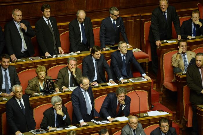 Италия: парламент должен подтвердить новую коалицию правительства. Фото: ANDREAS SOLARO/AFP/Getty Images