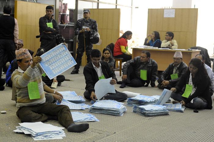 В Непале прошли выборы — и появилась надежда на стабильность. Фото: PRAKASH MATHEMA/AFP/Getty Images