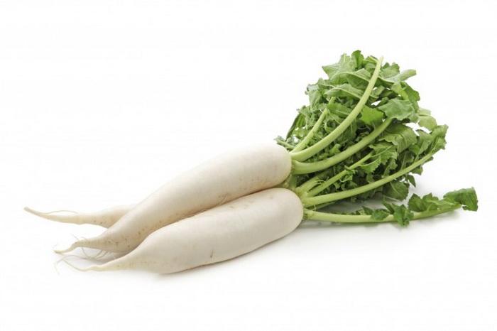 Редис — замечательный овощ для сжигания и переваривания избыточных жиров и слизи в организме. Фото: Photos.com