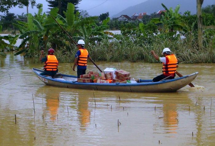 Вьетнам: сильные наводнения в центральной части страны. Фото: Vietnam News Agency/AFP/Getty Images