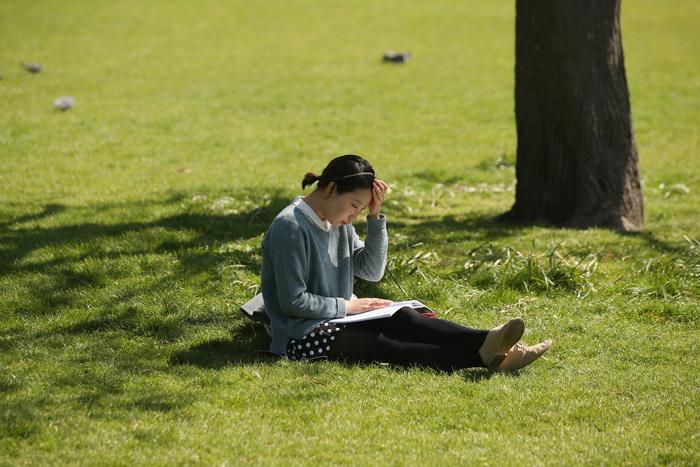 Чтение книг поможет сохранить память. Фото: Oli Scarff/Getty Images