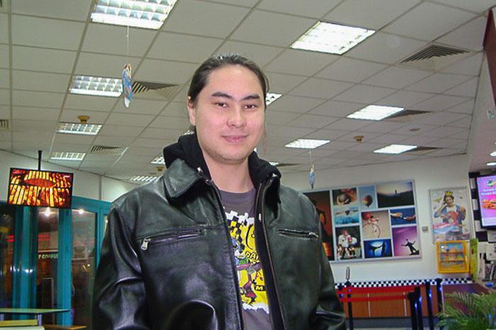 Сергей Цой. Фото представлено Сергеем Цоем