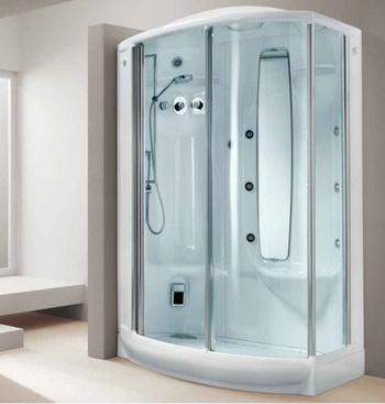 Трудности выбора между стальной ванной Kaldewei и душевой кабиной Teuco. Фото: santehcity.ru