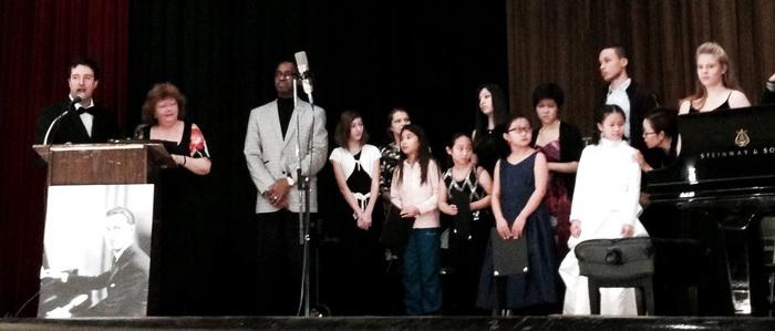 Международный конкурс имени Джорджа Гершвина в Нью-Йорке, церемония награждения. Фото предоставлено организаторами конкурса.