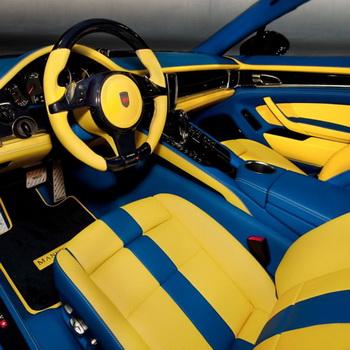 Внутренний тюнинг автомобиля. Фото:  avtoall.ru
