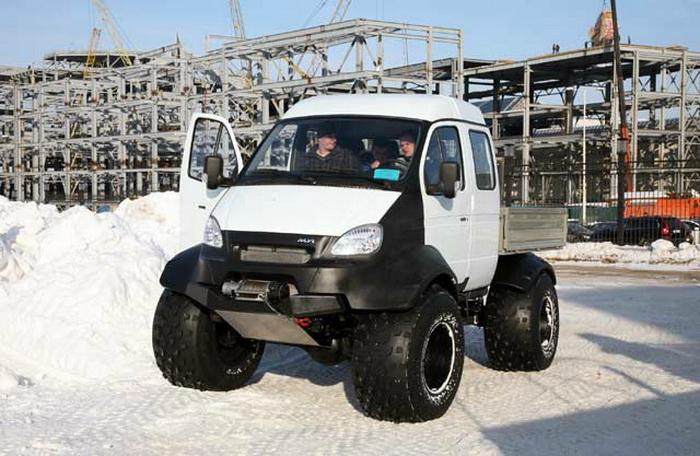 Московская выставка «Вездеход» продемонстрировала внедорожные чудо-автомобили. Фото:  vezdehod-expo.ru