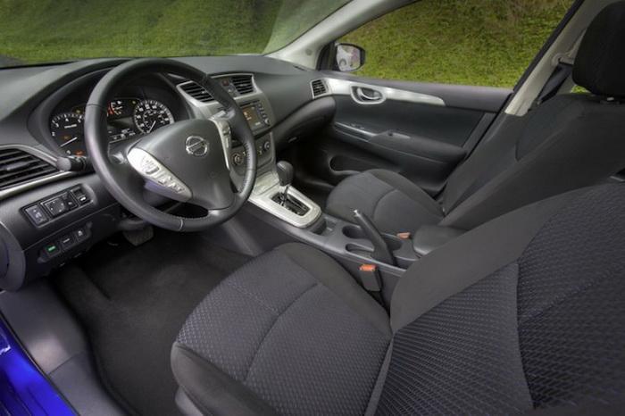Nissan Sentra 2013 года. Фото: Nissan