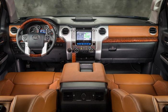 Toyota Tundra 2014 года. Фото: Toyota