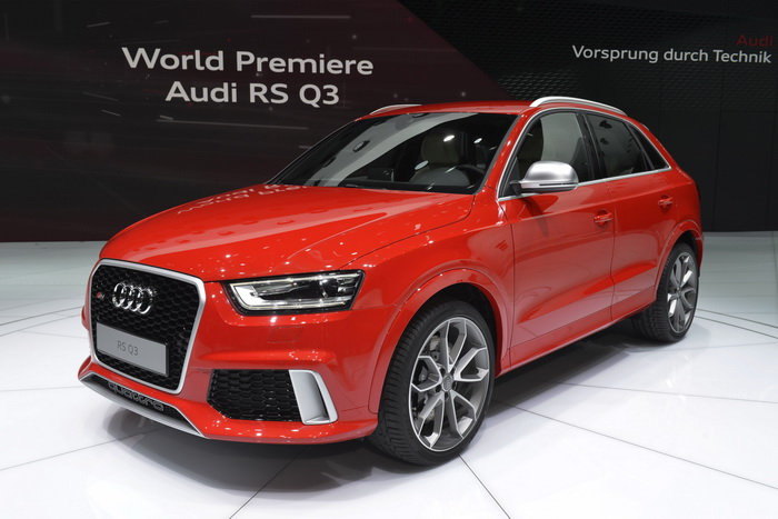 Audi RS Q3. Фото: SEBASTIEN FEVAL/AFP/Getty Images