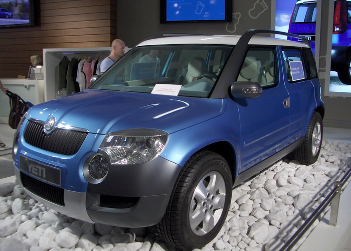 Skoda Yeti. Фото: Pineapple fez/commons.wikimedia.org
