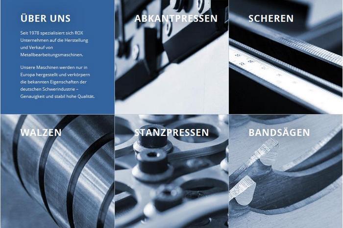 Даже спустя десятилетия станки Rox обеспечат высокую производительность выпускаемой продукции. Фото с сайта Roxgmbh.de