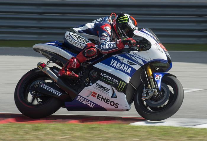 Хорхе Лоренцо в первый день тестов MotoGP в Сепанге (Малайзия) 4 февраля 2014  года. Фото: Mirco Lazzari gp/Getty Images