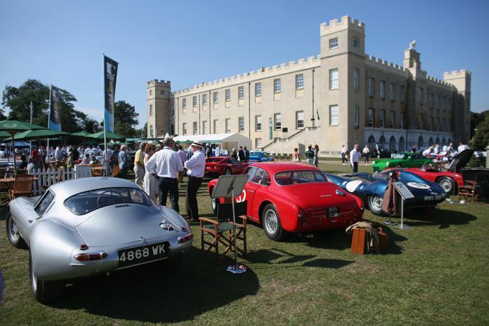 Роскошные, ценные и редкие автомобили представили на 8-м ежегодном шоу «Салон Prive» в Лондоне 4 сентября 2013 года. Фото: Oli Scarff/Getty Images
