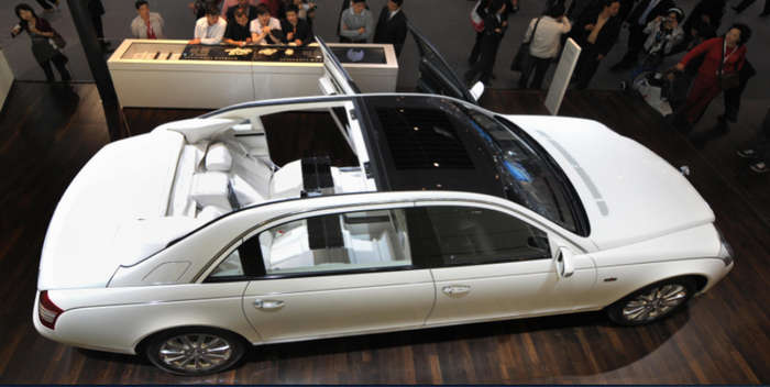 Maybach Landaulet. Фото: Frederic J. Brown/AFP/Getty Images
