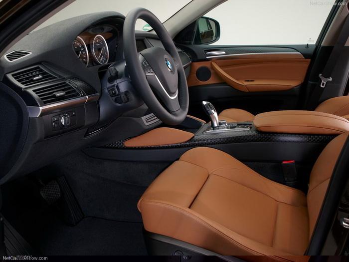 Салон BMW X6. Фото: netcarshow.com
