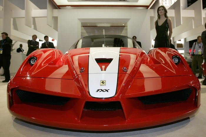 Ferrari FXX.  Фото: JEFF HAYNES/AFP/Getty Images