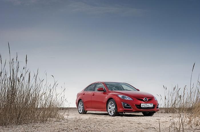 ММАС-2012 представляет мировые премьеры. Mazda 6 третьего поколения. Фото: fresher.ru