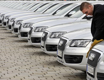Audi представила самую мощную версию кроссовера Q5. Фото:  JOERG KOCH/AFP/Getty Images