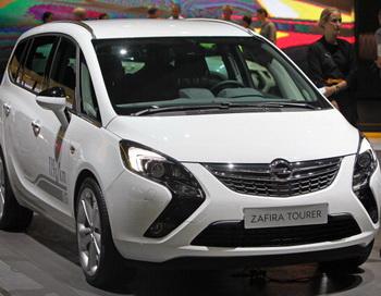 Opel Zafira.Фото:Getty
