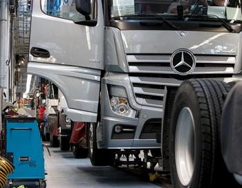 В Германии началось производство Mercedes-Benz Actros IV. Фото предоставлено пресс-службой ООО