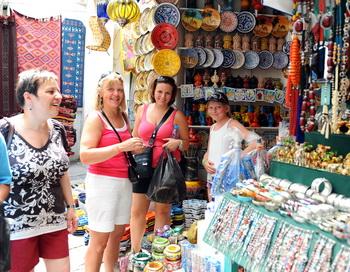 Российские туристы в Тунисе. Фото:Getty.