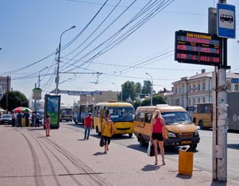 «Умные остановки» в Рязани предсказывают время прибытия автобусов. Фото предоставлено пресс-службой группы компаний «М2М телематика»