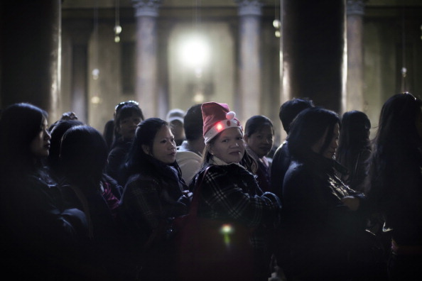 Рождество в Вифлееме. Фото: ABBAS MOMANI/AFP/Getty Images