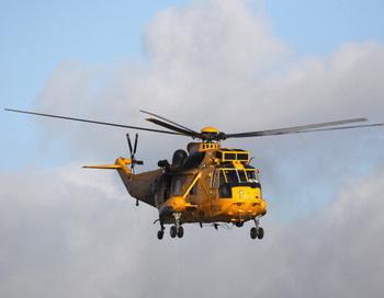 Поисково-спасательный вертолет RAF королевских ВВС. Фото: Christopher Furlong/Getty Images