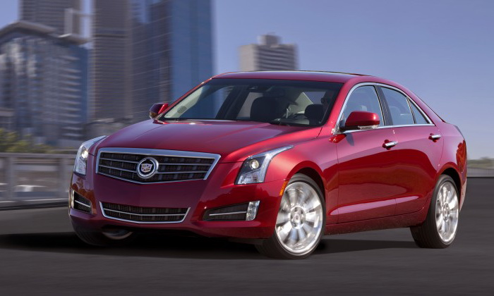 Cadillac ATS-2013. Фото: GM/Cadillac