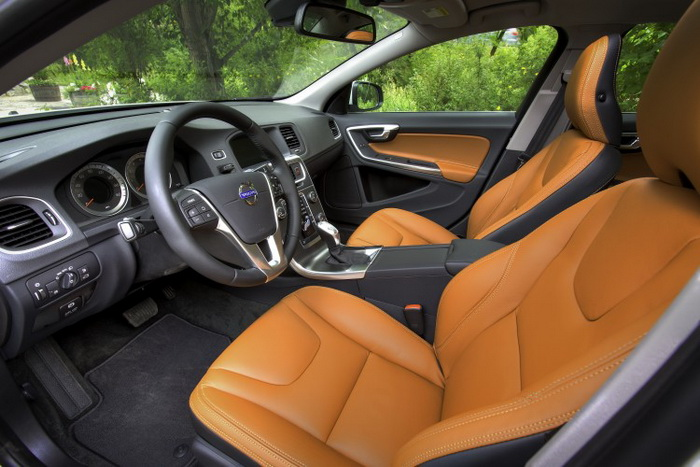 Интерьер S60. Фото: Volvo