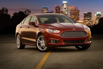 Ford Fusion Titanium 2013. Фото: Ford