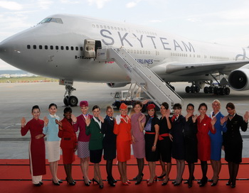 Что привлекает стюардесс в своей профессии? Фото: Sam Yeh/AFP/Getty Images