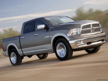 Автокорпорация Chrysler отзывает пикапы Dodge Ram из-за неполадок рулевой тяги. Фото с nevseoboi.com.ua