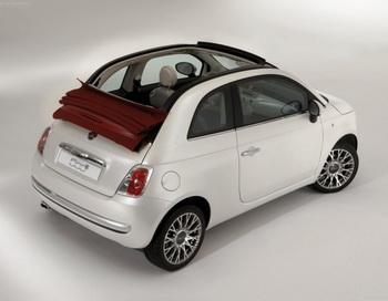 Fiat 500C. Фото: Netcarshow.com