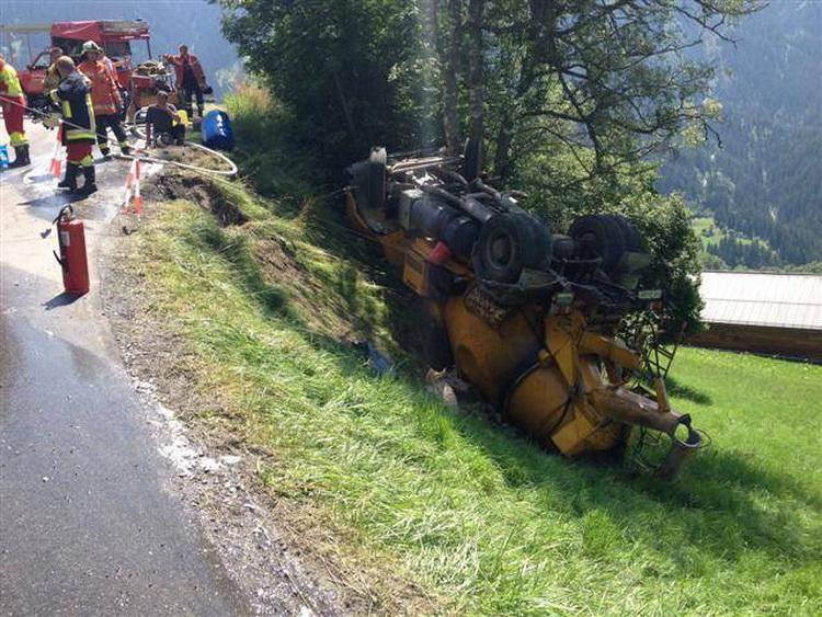 Жара сводит с ума водителей в Швейцарии? Фото с сайта blick.ch