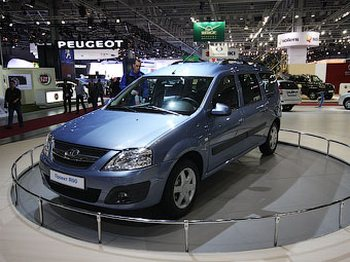 Выпущен первый универсал «АвтоВАЗа» на платформе Renault. Фото с tfo.net.ru