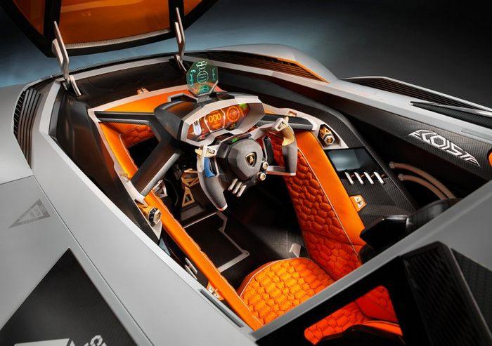 Подарок к 50-летию марки Lamborghini – единичный экземпляр спортивного автомобиля Egoista. Фото: Lamborghini