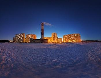 Вечерняя Балашиха. Фото: iBalashiha.ru
