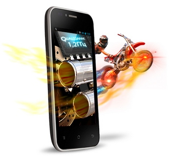 Fly Miracle 2 (IQ442 Quad). Фото: Fly-Phone.ru