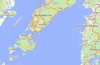 Карта Владивостока. Фото: Maxi-karta.ru