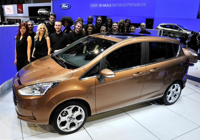 Ford B-Max. Фото: SEBASTIEN FEVAL / AFP / Getty Images