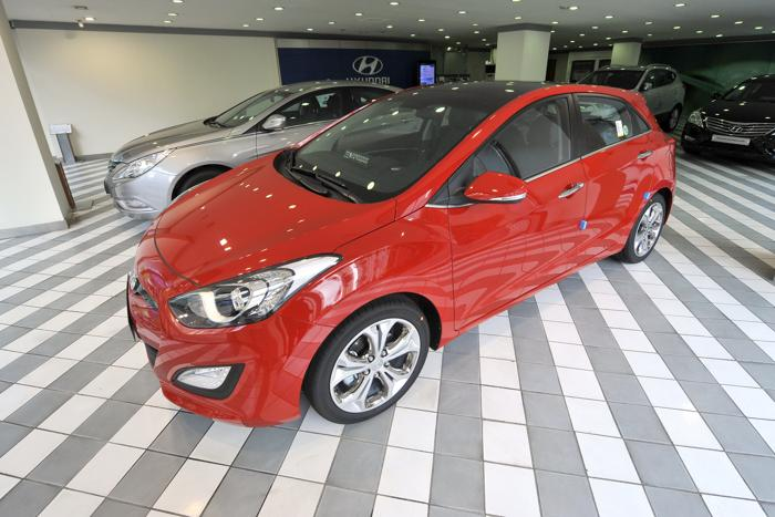 Hyundai i30. Фото: JUNG YEON-JE/AFP/GettyImages